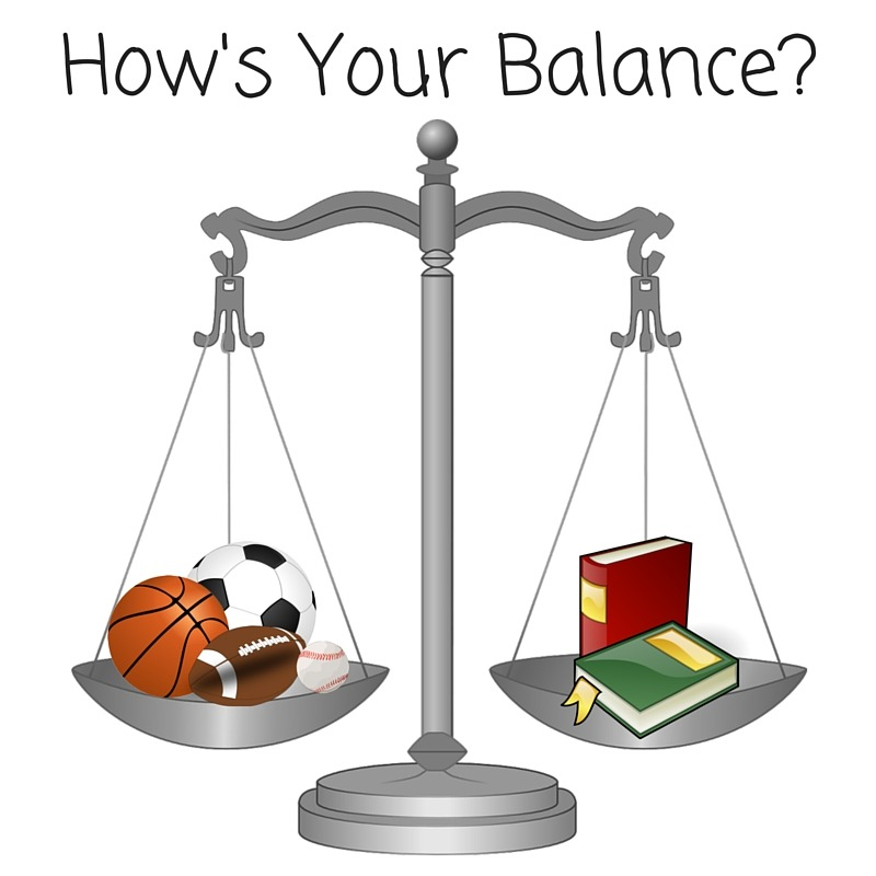 balancing academics and athletics Every student athlete has the invariable task to study and compete, it's like having  two daytime job according to life fitness magazine princeto.