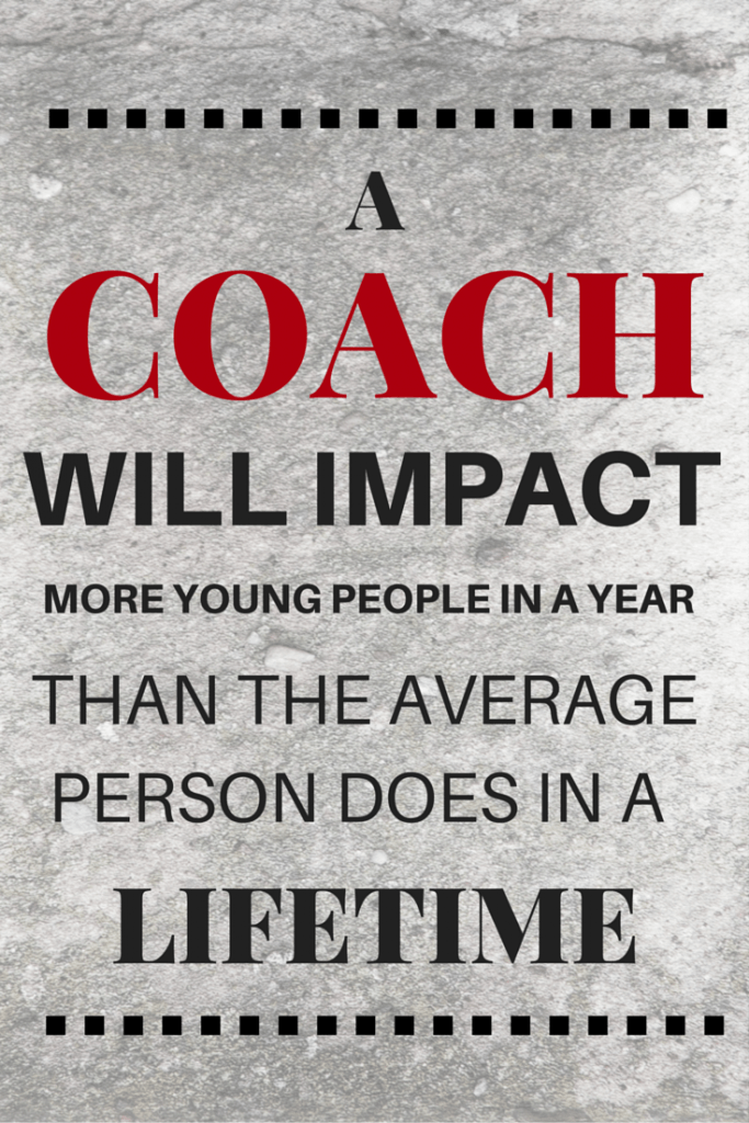 coaching kids impact