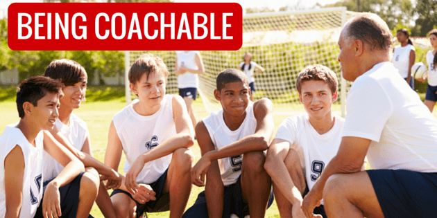 Being Coachable is a Necessity for Success
