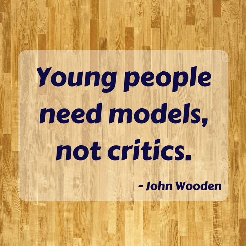 coaching kids - john wooden