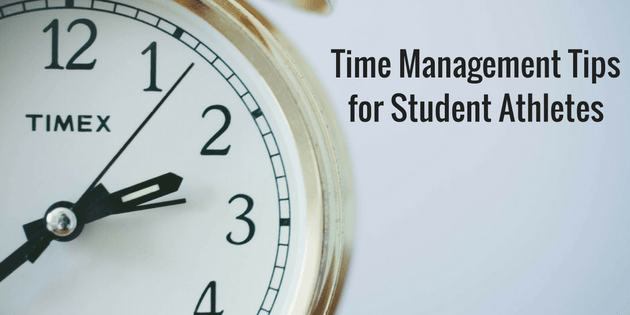 5 Time Management Tips for Student Athletes