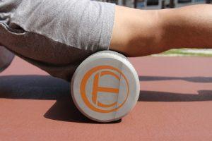 muscle soreness - foam roller