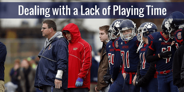 Dealing with a Lack of Playing Time
