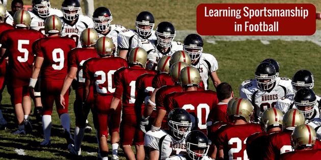 Learning Sportsmanship in Football
