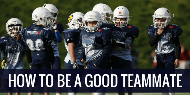 How To Be a Good Teammate
